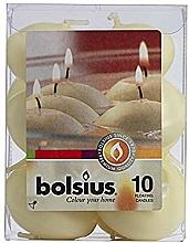 Düfte, Parfümerie und Kosmetik Schwimmkerzen-Set beige - Bolsius