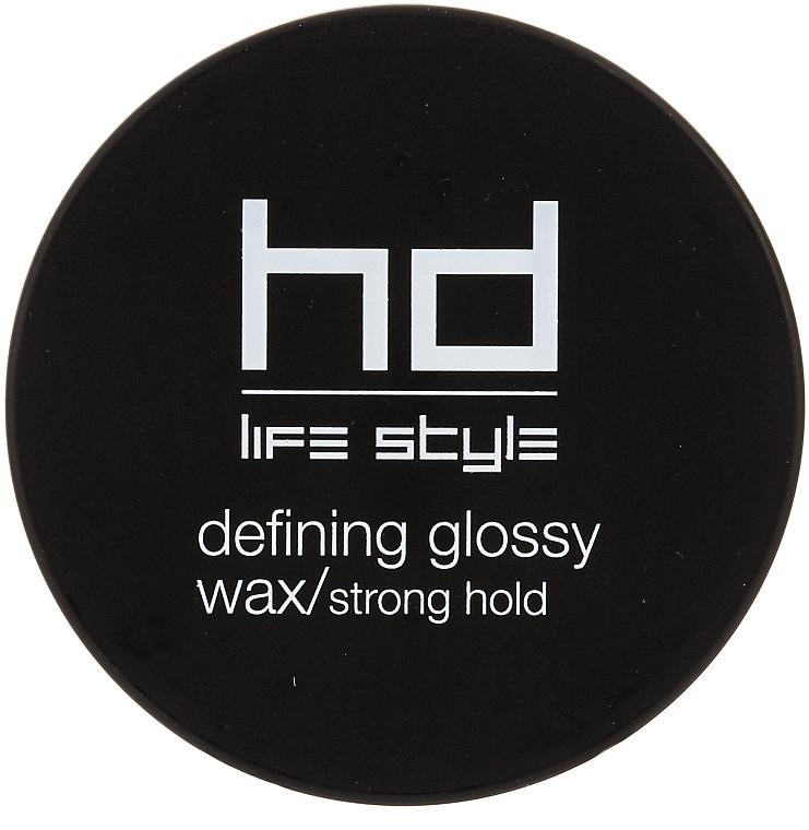 Haarwachs mit Glanzeffekt Starker Halt - Farmavita HD Defining Glossy Wax/Strong Hold
