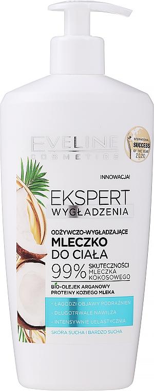 Nährende und glättende Körpermilch mit Kokosnuss - Eveline Cosmetics