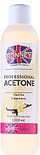 Düfte, Parfümerie und Kosmetik Nagellackentferner mit Vanille - Ronney Professional Acetone Vanilia