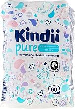 Düfte, Parfümerie und Kosmetik Kinder Wattestäbchen 60 St. - Cleanic Kids Care Cotton Pads
