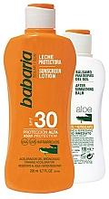 Düfte, Parfümerie und Kosmetik Körperpflegeset - Babaria Sun (Sonnenschutzlotion 200ml + After Sum Balsam 100ml)