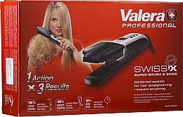 Düfte, Parfümerie und Kosmetik Haarglätter zum Glätten und Bürsten - Valera Swiss'x Super Brush & Shine