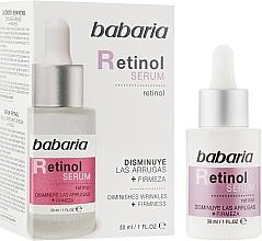 Düfte, Parfümerie und Kosmetik Straffendes Anti-Falten Gesichtsserum mit Retinol - Babaria Retinol Serum