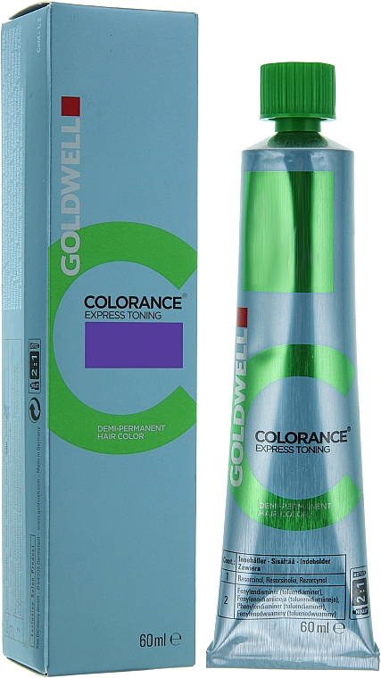 Demi-permanente Haarfarbe - Goldwell Colorance Express Toning Hair Color