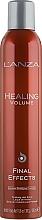 Düfte, Parfümerie und Kosmetik Fixierendes Haarspray - L'anza Healing Volume Final Effects