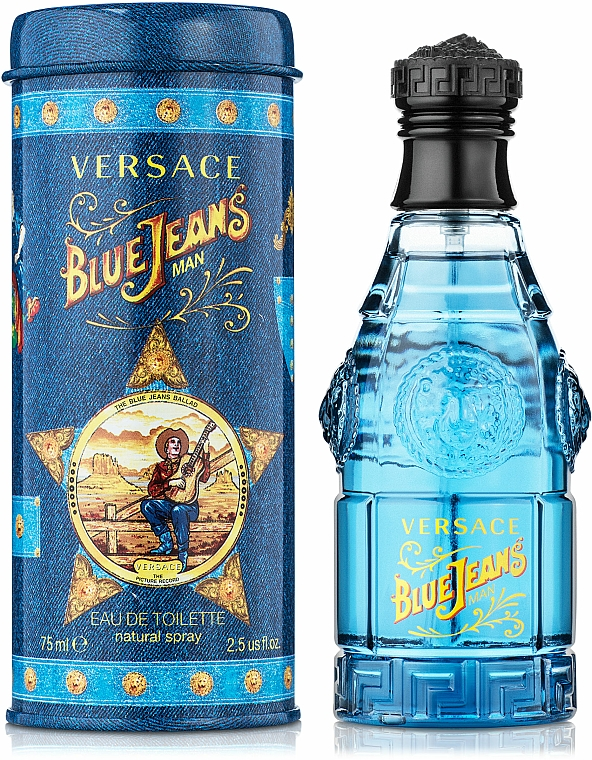 Versace Blue Jeans Man - Eau de Toilette