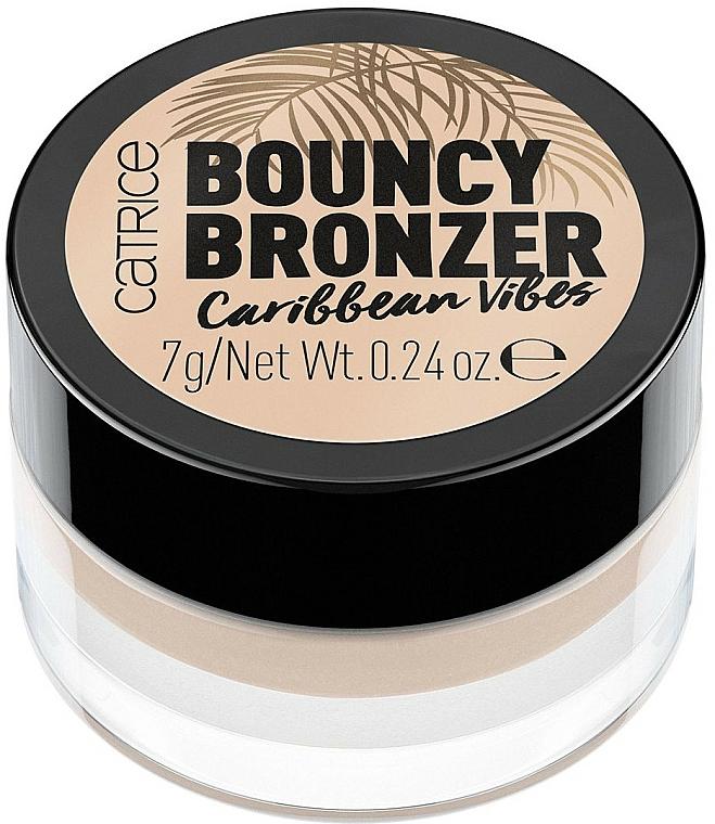Bronzer mit Gel-Textur für einen sonnengeküssten Teint - Catrice Bouncy Bronzer Caribbean Vibes