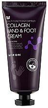 Düfte, Parfümerie und Kosmetik Hand- und Fußcreme mit Seekollagen - Mizon Collagen Hand And Foot Cream