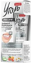 Düfte, Parfümerie und Kosmetik Aufhellendes Zahnpulver mit weißer Kohle - Fito Kosmetik Folk Recipes White Charcoal Tooth Powder