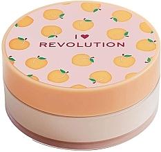 Düfte, Parfümerie und Kosmetik Loser Gesichtspuder Pfirsich - I Heart Revolution Loose Baking Powder Peach