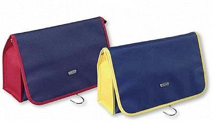 Reise-Kosmetiktasche 93265 blau-gelb - Top Choice