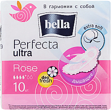 Düfte, Parfümerie und Kosmetik Damenbinden Perfecta Rose Deo Fresh Drai Ultra 10 St. - Bella