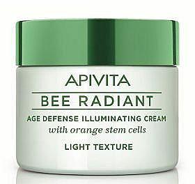 Anti-Aging Gesichtscreme für strahlende Haut mit Orange-Stammzellen - Apivita Bee Radiant Face Cream