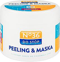 Düfte, Parfümerie und Kosmetik Zwei-Phasen-Fußpeelingmaske - Pharma CF No.36 Peeling & Mask
