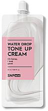 Düfte, Parfümerie und Kosmetik Feuchtigkeitsspendende und regenerierende Gesichtscreme mit Hyaluronsäure und Ceramiden - SNP Mini Water Drop Tone Up Cream (Mini)