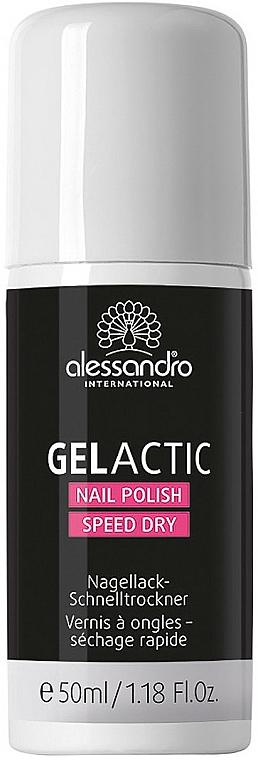 Nagellack-Schnelltrockner-Spray - Alessandro International Gelactic Nail Polish Speed Dry — Bild N1
