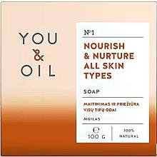 Düfte, Parfümerie und Kosmetik Pflegende Seife für alle Hauttypen - You & Oil Nourish & Nurture All Skin Types