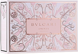 Düfte, Parfümerie und Kosmetik Bvlgari Omnia Crystalline - Duftset (Eau de Toilette 40ml + Körperlotion 40ml + Duschgel 40ml)