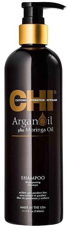 Regenerierendes Shampoo - CHI Argan Oil Plus Moringa Oil Shampoo