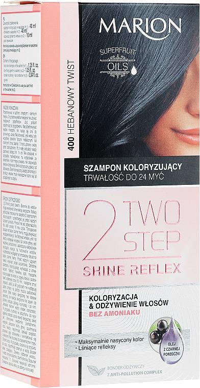 Tönungsshampoo ohne Ammoniak - Marion Two-Step Shine Reflex Color Szampon