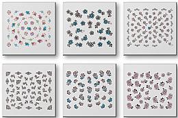 Düfte, Parfümerie und Kosmetik Nageldekorationen-Set 149312 - Top Choice Nail Decorations Stickers Set (6 St.)