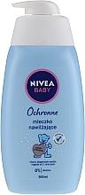 Düfte, Parfümerie und Kosmetik Schützende und feuchtigkeitsspendende Körpermilch für Babys - Nivea Baby Velvet Moisturizing Milk