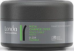Düfte, Parfümerie und Kosmetik Modellierende Haarpaste Flexibler Halt - Londa Professional Men Change Over Remoldable Past
