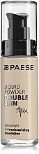 Düfte, Parfümerie und Kosmetik Leichte feuchtigkeitsspendende Foundation - Paese Liquid Powder Double Skin Aqua