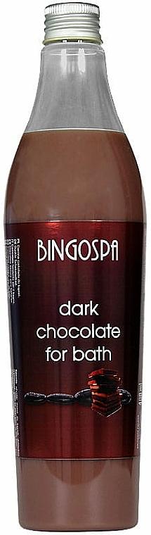 Schaumbad mit dunkler Schokolade - BingoSpa Bitter Chocolate Bath