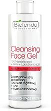 Düfte, Parfümerie und Kosmetik Exfolierendes Gesichtsgel - Bielenda Professional Exfoliation Face Program Cleansing Face Gel