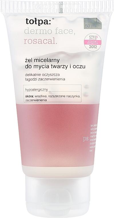 Mizellen-Reinigungsgel für Augen und Gesicht - Tolpa Dermo Face Rosacal Face Gel