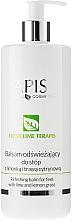 Düfte, Parfümerie und Kosmetik Erfrischender Fußbalsam mit Limette und Zitronengras - APIS Professional Refreshing Balm For Feet With Lime And Lemon Grass