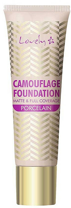 Foundation mit mattem Finish und hoher Deckkraft - Lovely Camouflage Foundation
