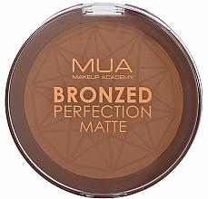Düfte, Parfümerie und Kosmetik Gebackener Bronzer - MUA Bronzed Perfection