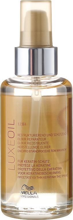Restrukturierendes und schützendes Haaröl für alle Haartypen - Wella SP Luxe Oil Reconstructive Elixir