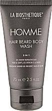 Düfte, Parfümerie und Kosmetik Erfrischendes Duschgel für Körper, Haar und Bart - La Biosthetique Homme Hair Beard Body Wash