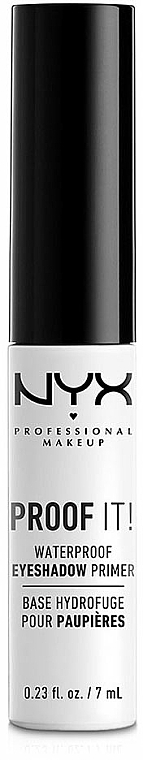 Wasserfester Lidschatten-Primer - NYX Professional Makeup Proof It! Waterproof Eye Shadow Primer